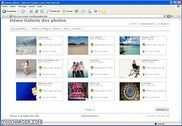 Album photos marchand avec editeur HTML PHP