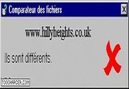 Hillyheights comparateur de fichiers