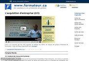 Acquisition d'entreprise (suite) Droit et économie