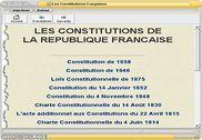 Les Constitutions de la République Française