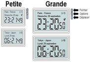 Horloge Mondiale Bureautique