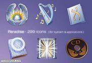 Paradise Icon Personnalisation de l'ordinateur
