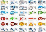 Artistic Toolbar Icons Personnalisation de l'ordinateur