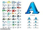 Word Icon Library Personnalisation de l'ordinateur