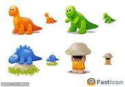 Dino Icons Personnalisation de l'ordinateur