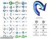 Navigation Icon Set Personnalisation de l'ordinateur