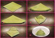 Techniques de pliage de serviette Education