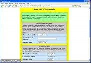 FreeASP Maillist ASP