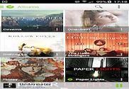 PlayerPro Cloudy Green Skin Multimédia