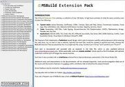 MSBuild Extension Pack