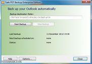 Safe PST Backup for Microsoft Outlook Bureautique