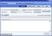 Advanced Outlook Data Recovery Internet