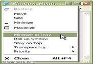 Actual Window Menu Personnalisation de l'ordinateur