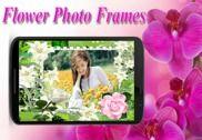 Fleur Cadre photo-Roses Multimédia