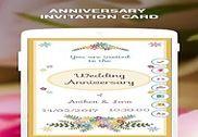 Anniversary Invitation Card Multimédia