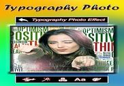 Typography Photo Effect New: Font Editor Multimédia
