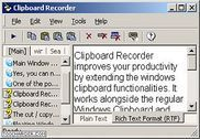 Clipboard Recorder Utilitaires
