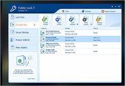 Folder Lock Sécurité & Vie privée