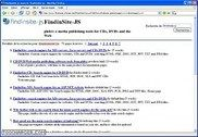 FindinSite-JS Java Servlet website search engine