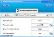 Word Password Recovery Master Utilitaires