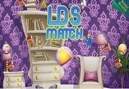 LDS match de jeu de puzzle 3 Jeux