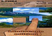 Paysages puzzles Jeux