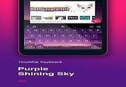 Purple Sky Keyboard Theme Maison et Loisirs