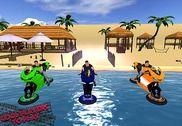 Eau Surf Bike Ride Jeux