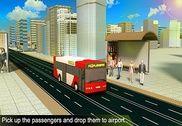 Airport Bus Driving Service 3D Jeux