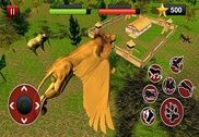 Angry Flying Lion Simulator Jeux