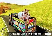 Animal Cargaison Livraison un camion Jeux