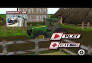 Tracteur de ferme simulateur d Jeux