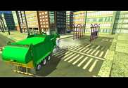 Real Garbage Truck 2017: City Cleaner Truck Park Jeux