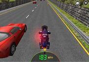 911 trafic police vélo coureur Jeux