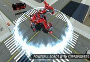 Air Robot Jeu - En volant Robot Transformant Avion Jeux