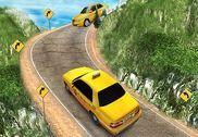 Fou Taxi Chauffeur Colline Gar Jeux