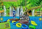 Vélo cascade courses aventure: moto courses Jeux Jeux