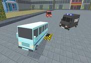 Blocky Bus Battle: Holo Rider 3D Jeux