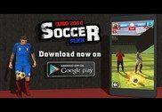 Euro 2016 Soccer Flick Jeux