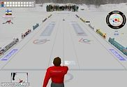 Outdoor Curling Simulation Jeux