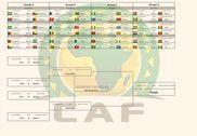 Calendrier Coupe d'Afrique des Nations 2017