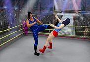 Femmes lutte Super étoiles 2017: claquer décès Jeux