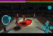 3D jeu de boxe Jeux