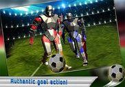 Futuriste robot football, 2017 Jeux