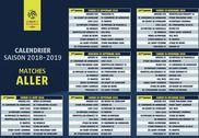 Calendrier officiel Ligue 1 2018-2019