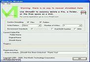 ShredIt for Windows Sécurité & Vie privée