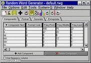 Random Word Generator Bureautique