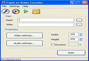 Flash To Video Encoder Multimédia