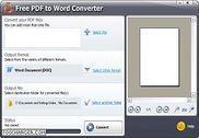 Free PDF to Word Converter Bureautique