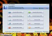 Convertir PDF Bureautique